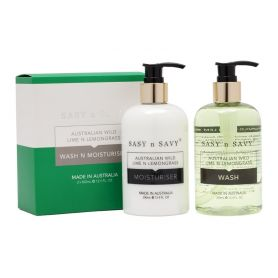 Lime n Lemongrass Wash n Moisturise twin pack