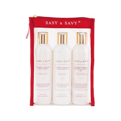 Shower me Pack Peppermint n Rosemary trio pack - Sasy n Savy