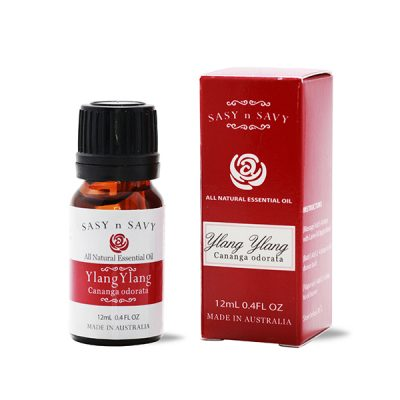 Ylang Ylang Essential Oil 12mL Sasy n Savy